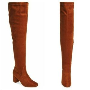 Coconuts by Matisse Brown Over the Knee Boots
